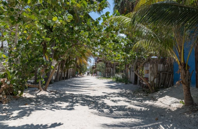Sandy_streets_of_Holbox_credit _dronepicr - Sandy streets of Holbox